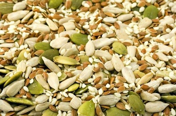 Semená a olejniny