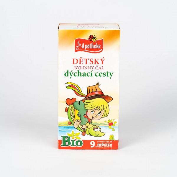 Detský bylinný čaj dýchacie cesty Bio, 20x1,5g