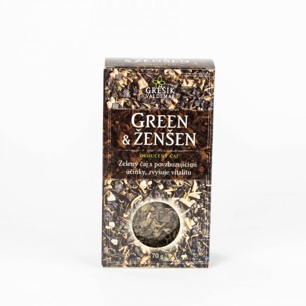 Green & Ženšen, 70 g