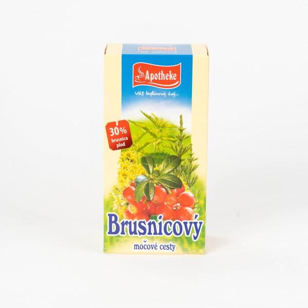 Brusnicový čaj na močové cesty, 20x1,5 g