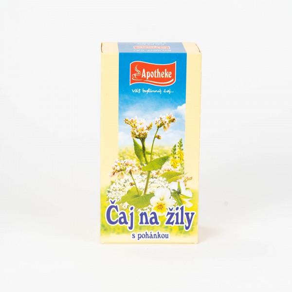 Čaj na žily s pohánkou, 20x1,5 g