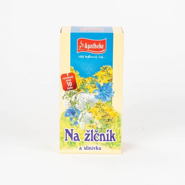 Čaj na žlčník a slinivku, 20x1,5 g