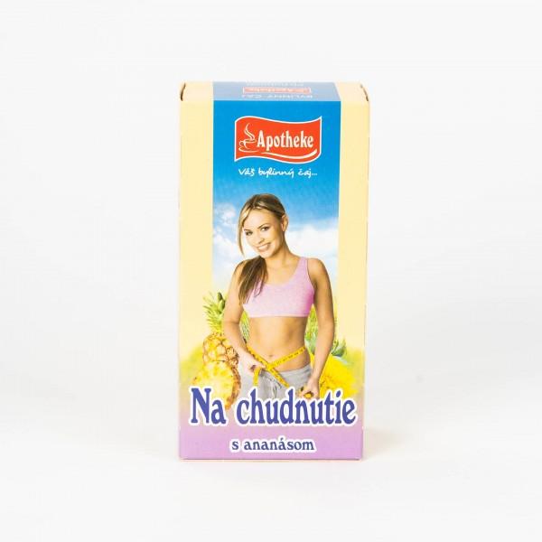Čaj pri chudnutí s ananásom, 20x1,5 g