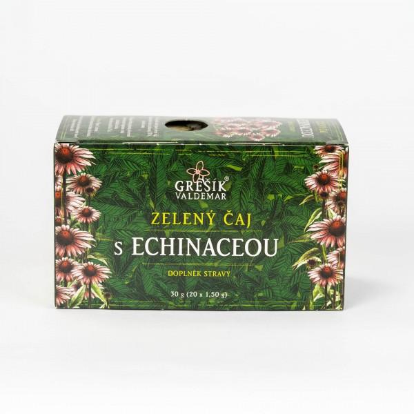 Zelený čaj s echinaceou, 20x1,5g