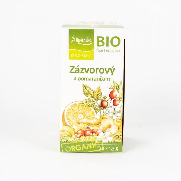 Zázvorový čaj s pomarančom, 20x1,5 g