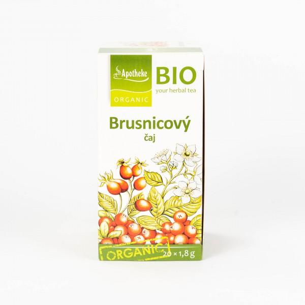 Brusnicový ovocný čaj, 20x1,8g