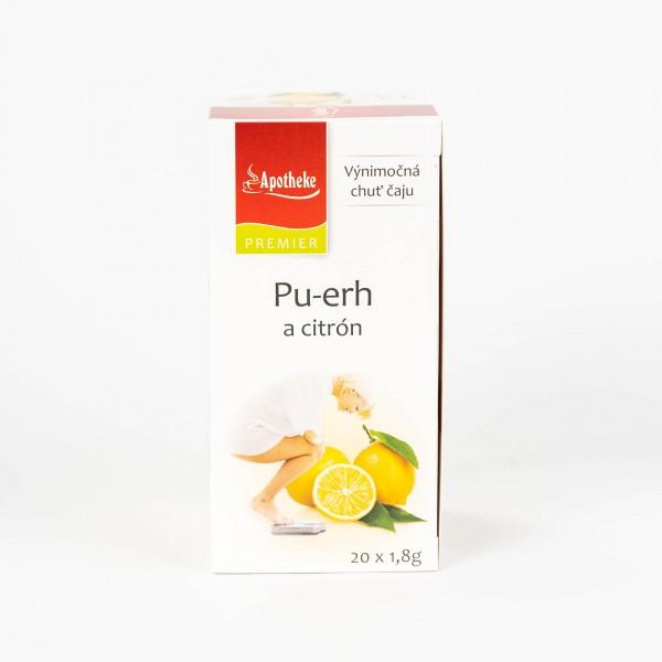 Pu-erh a citrón, 20x1,8 g