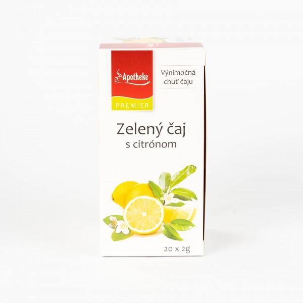 Zelený čaj s citrónom, 20x2g