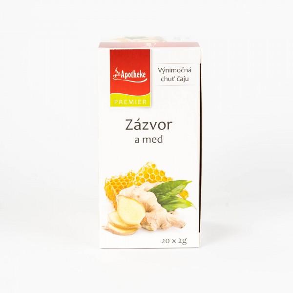 Zázvor a med, 20x2 g