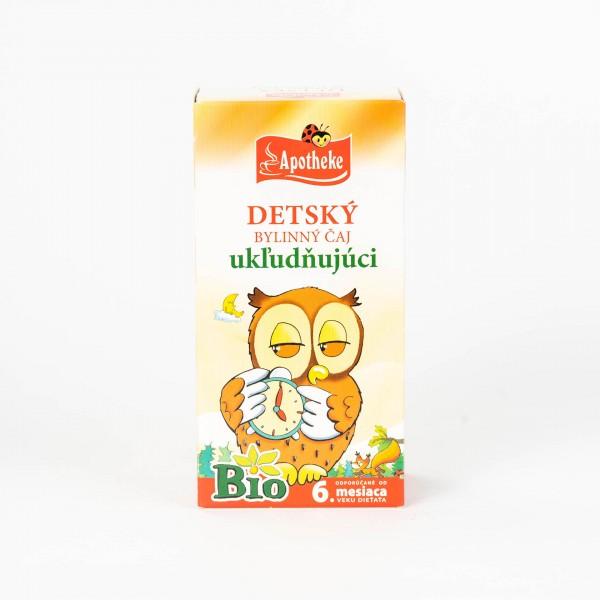 Detský bylinný čaj ukľudňujúci BIO, 20x1,5g