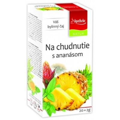 Pri chudnutí s ananásom, 20x2g