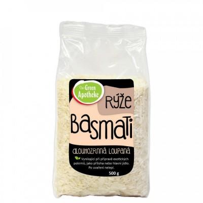 Ryža BASMATI dlhozrnná lúpaná, 500g