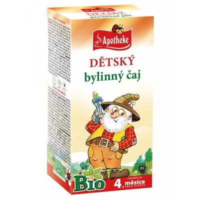 Detský bylinný čaj, Bio 20x1,5 g