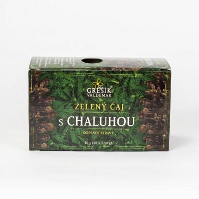 Zelený čaj s chaluhou, 20x1,5 g