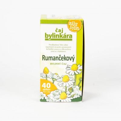 Rumančekový čaj, 40x1,6g