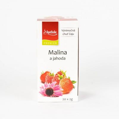 Malina a jahoda, 20x2 g
