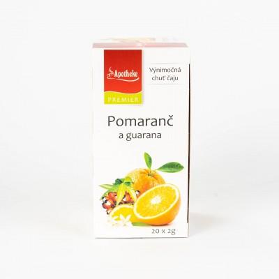 Pomaranč a guarana, 20x2g
