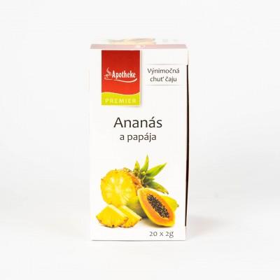 Ananás a papája, 20x2 g