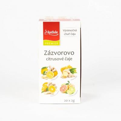 Zázvorovo-citrusové čaje, 20x2 g