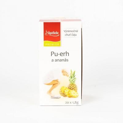 Pu-erh a ananás, 20x1,8 g