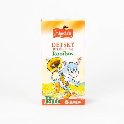Detský bylinný čaj Rooibos, Bio 20x1,5 g