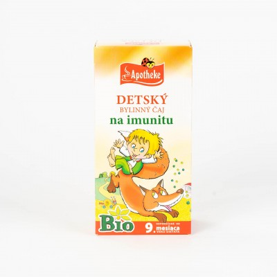 Detský bylinný čaj na imunitu, Bio 20x1,5 g