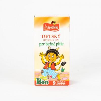 Detský ovocný čaj, Bio 20x2 g