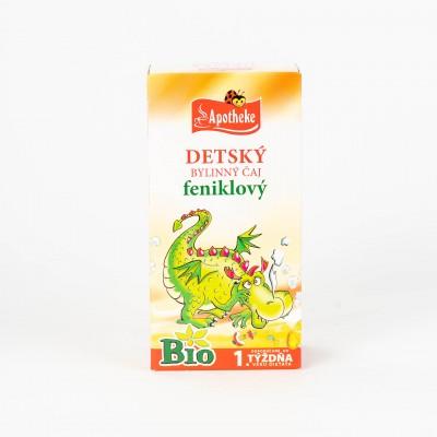 Detský bylinný čaj feniklový, Bio 20x1,5 g
