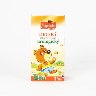 Detský čaj urologický 20/1,5g Bio 1.rok