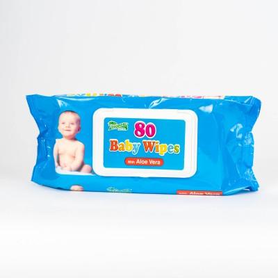 Baby Wipes - Aloe Vera, 80 ks