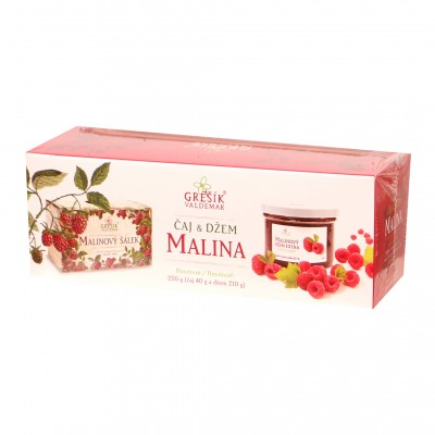 Kazeta Malina 250g