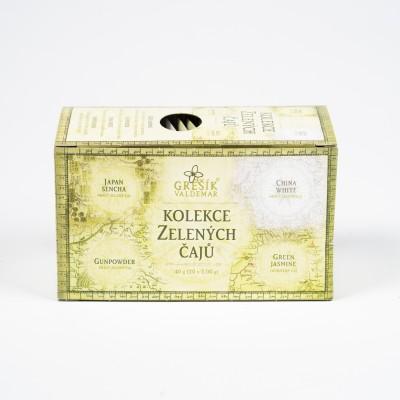 Kolekcia zelených čajov, 20x2g