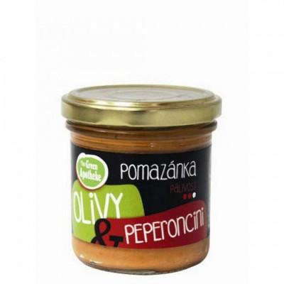 Olivy a peperoncini, 140g
