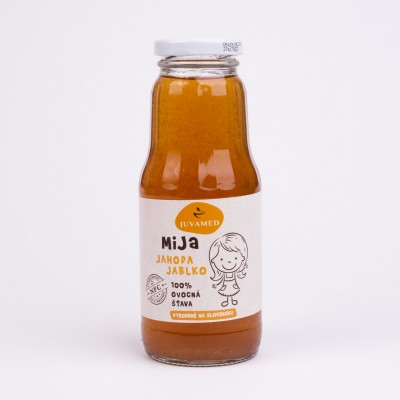 MiJa Jahoda jablko, 250 ml