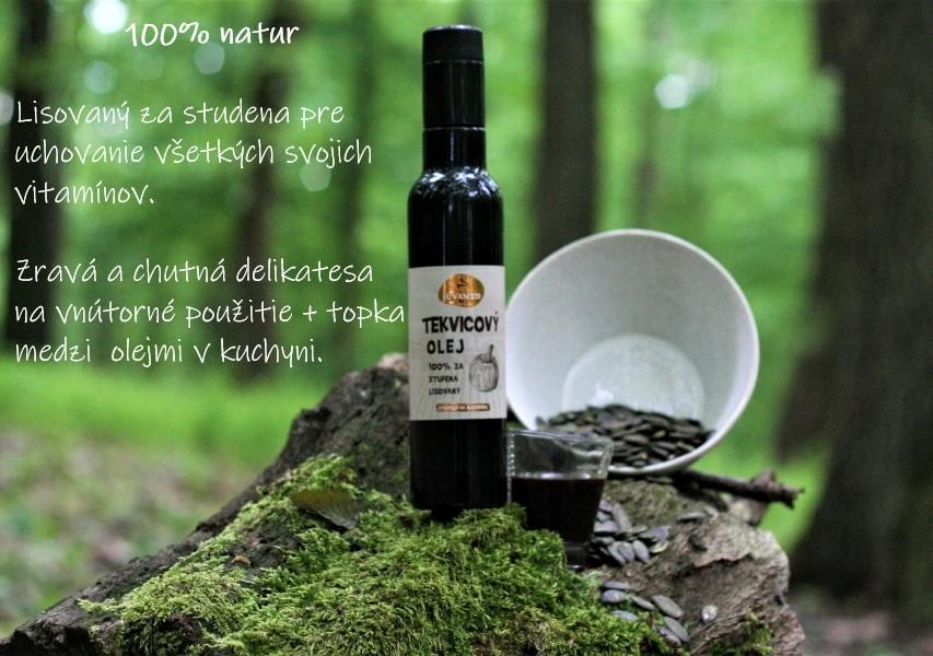 Tekvicový olej, 250ml