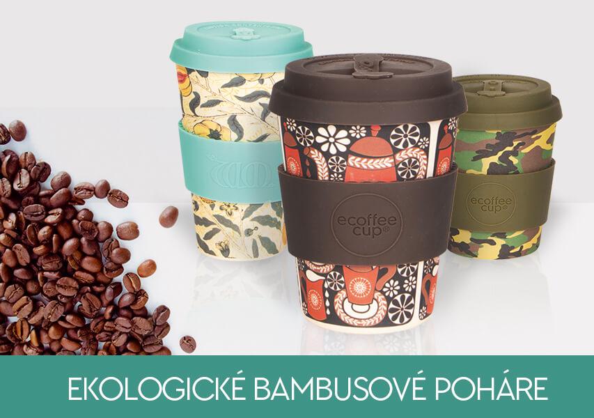 Ekologické bambusové poháre