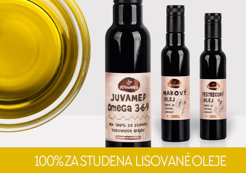 Zastudena lisované oleje