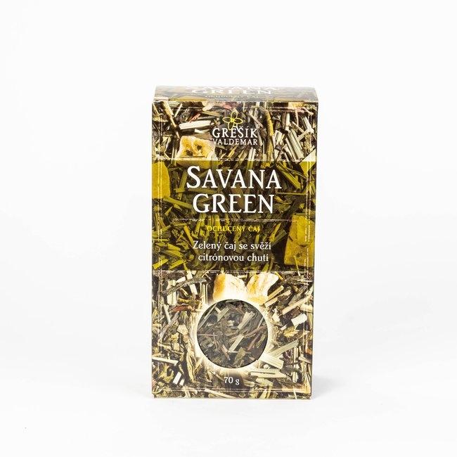 zelený čaj príprava